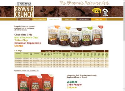 Brownie Crunch Website