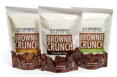 Brownie Crunch Packaging