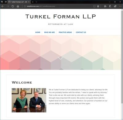 Turkel Forman Website